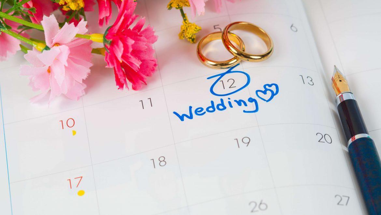Most Popular & Auspicious Wedding Dates of 2019