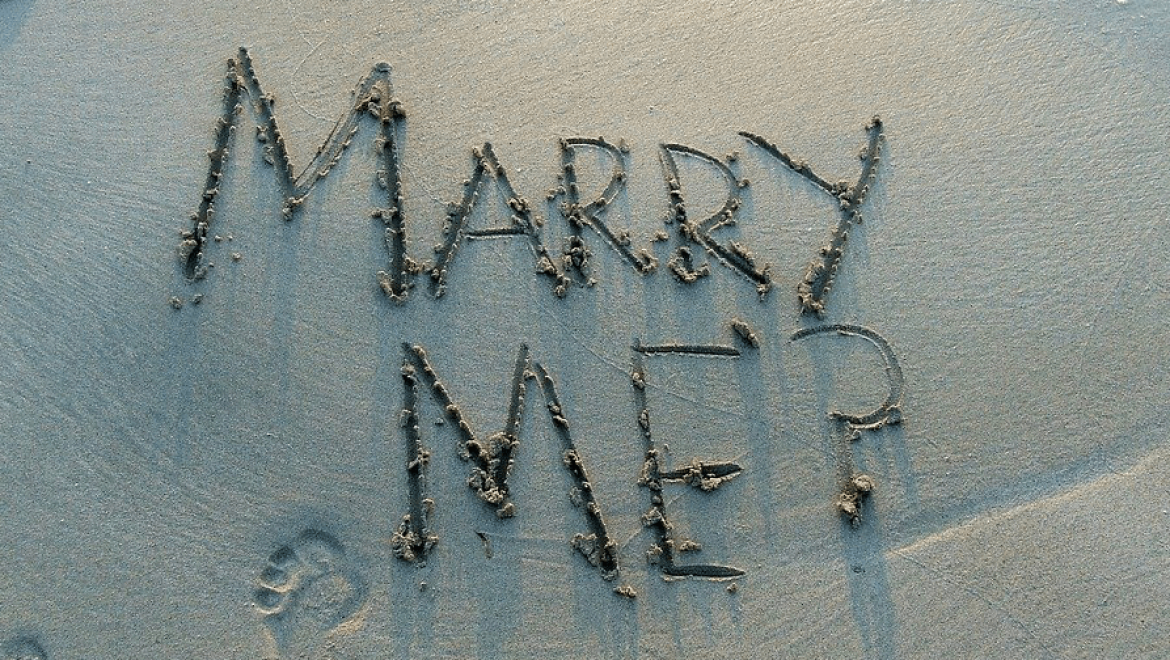 Popping the Question for Marriage
